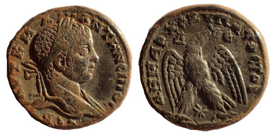 Ancient Coins - Seleucis and Pieria. Antioch. Elagabalus. 218-222 AD. AR Tetradrachm