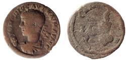 Ancient Coins - Commagene, Samosata: Elagabalus, 218-222 AD. AE 26. Rare