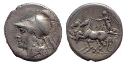 Ancient Coins - Campania, Cales (Calvi), ca. 280-268 BC. AR Stater. Rare