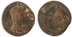 Ancient Coins - Cilica, Tarsus. Julia Paula, AD 219-220. AE 29. Very Rare.