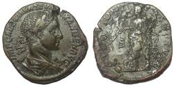 Ancient Coins - Severus Alexander, 222-235 AD. Æ Sestertius, Providentia Reverse