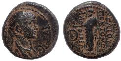 Ancient Coins - Phrygia, Laodicea ad Lycum. Nero. As Caesar, AD 50-54. Æ 20