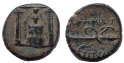 Ancient Coins - Pamphylia, Perge. Circa 50-30 BC. Æ 16