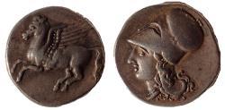 Ancient Coins - Bruttium, Medma, 330-317 BC. AR Stater. Rare.