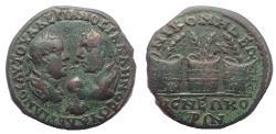 Ancient Coins - Bithynia, Nicomedia. Valerian I., Gallienus and Valerian II., AD 253 - 260 AE 26