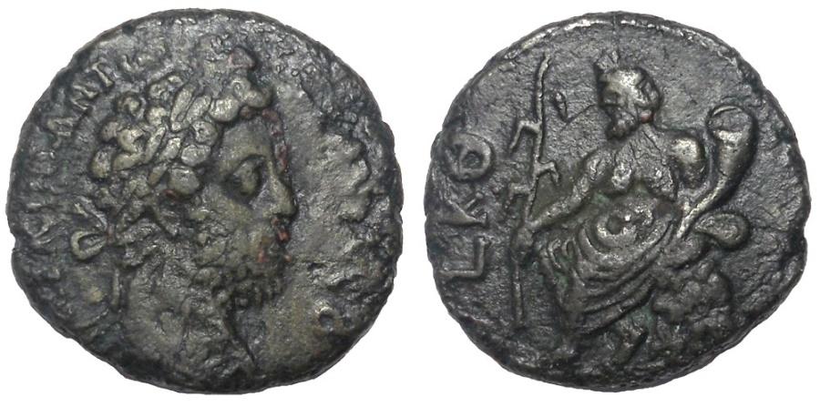 Ancient Coins - Egypt: Alexandria, Commodus, 177-192 AD. Billon Tetradrachm