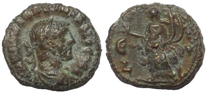 Ancient Coins - Egypt, Alexandria: Maximianus I, 286-305 AD.  AE Tetradrachm, Homonia Reverse