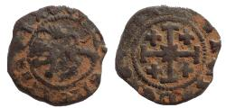 Ancient Coins - Crusaders, Lusignan Kingdom of Cyprus. James II. 1460-1473. Æ Sezin