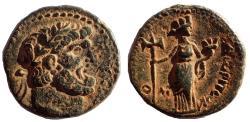 Ancient Coins - Phoenicia, Dora. Quasi-Autonomous (AD 69-79 ). AE 23