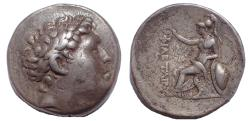 Ancient Coins - Kings of Pergamon: Attalos I, 241-197 BC. AR Tetradrachm