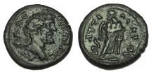 Ancient Coins - Lydia, Attaeia, Septimius Severus, 193-211 AD. AE19