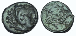 Ancient Coins - Kings of Thrace. Lysimachos. 305-281 BC. Æ 15
