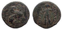 Ancient Coins - Pamphylia, Perge. Circa 190-130 BC. Æ 16
