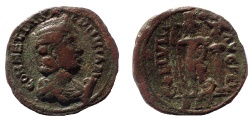 Ancient Coins - Phoenicia, Berytus. Salonina. Augusta, AD 254-268. Æ 28