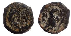 Ancient Coins - Nabataea. Aretas IV. 9 BC-AD 40. Æ  11. Rare.