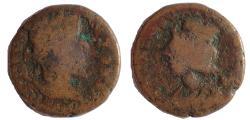 Ancient Coins - Coele-Syria. Damascus. Antoninus Pius. AD 138-161. Æ 22