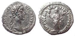 Ancient Coins - Commodus, 180-192 AD. AR Denarius