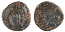 Ancient Coins - Troas, Gergis . Circa 400 - 241 BC. Æ 9