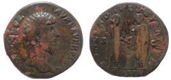 Ancient Coins - Lucius Verus. AD 161-169. Æ Sestertius