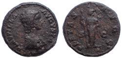 Ancient Coins - Plautilla, wife of Caracalla Ae As. circa 203. Rare.