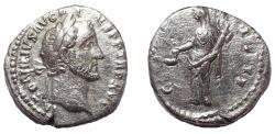 Ancient Coins - Antoninus Pius. AD 138-161. AR Denarius