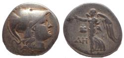 Ancient Coins - Pamphylia, Side. Ca. 190-150 BC. AR tetradrachm