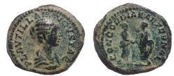 Ancient Coins - Plautilla, wife of Caracalla. Augusta, 202-205 AD. AR Denarius