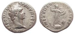 Ancient Coins - Domitian. AD 81-96. AR Denarius