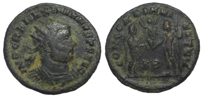 Ancient Coins - Maximianus Herculius, 285-310 AD.  AE Antoninianus