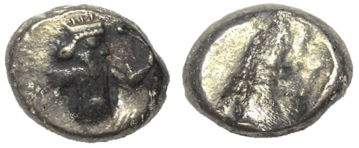 Ancient Coins - Persia: Achaemenid Empire, ca. 546-450 BC.  AR Siglos