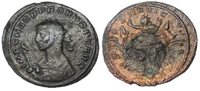 Ancient Coins - Probus, 276-282 AD.  AE Antoninianus