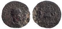 Ancient Coins - Mesopotamia, Rhasaena. Trajan Decius. AD 249-251. Æ 26