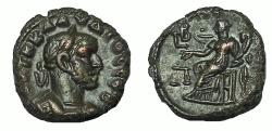 Ancient Coins - Egypt, Alexandria. Claudius II Gothicus. 268-270 AD. BI Tetradrachm, EF