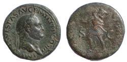 Ancient Coins - Vespasian. AD 69-79. Æ Sestertius