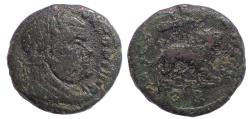 Ancient Coins - Divus Maximianus. Died AD 310. Æ Quarter Follis