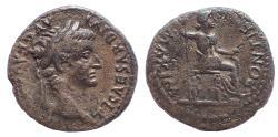 Ancient Coins - Tiberius, AD 36-37. AR Denarius. -Tribute Penny