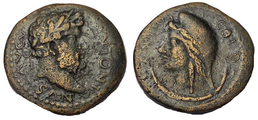Ancient Coins - Pisidia, Antioch Marcus Aurelius, AD 161-180, Æ 24, Rare
