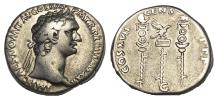 Ancient Coins - Domitian, AD 81-96 , Ar Cistophorus