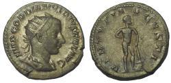 Ancient Coins - Gordian III, 238-244 AD. AR Antoninianus