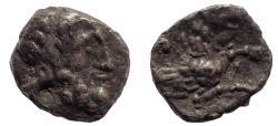 Ancient Coins - Lycaonia, Laranda. Circa 324-323 BC. AR Obol