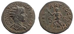 Ancient Coins - Pisidia, Antiochia. Philip I. AD 244-249. Æ 27, Rare