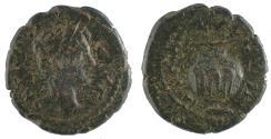 Ancient Coins - Bithynia, Nicaea, Caracalla. Ae 16 Rare.