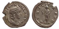 Ancient Coins - Herennia Etruscilla. Augusta, AD 249-251. AR Antoninianus