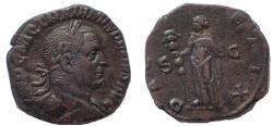 Ancient Coins - Trajan Decius. AD 249-251. Æ Sestertius