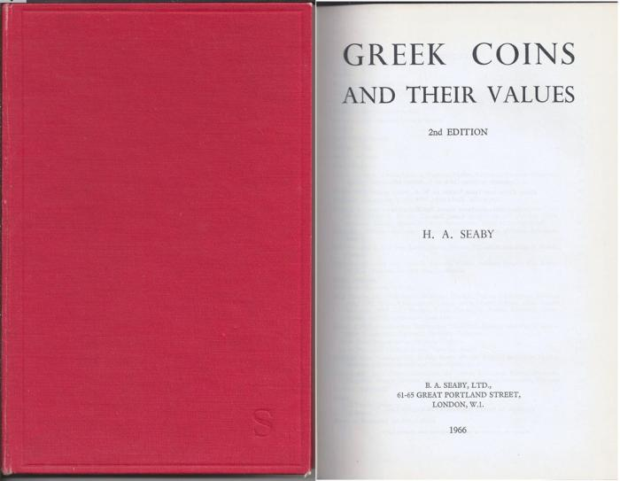 Ancient Coins - Greek Coins and Their Values, by H. A. Seaby (1966)
