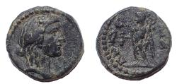 Ancient Coins - Pamphylia, Magydos 2nd-1st century AD. AE 15. Very Rare.