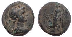 Ancient Coins - Phrygia, Dionysopolis, 1st century BC. AE 21, Rare