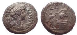 Ancient Coins - Egypt, Alexandria. Faustina junior, Tetradrachm c. 156-157, Very Rare, Ex Dattari