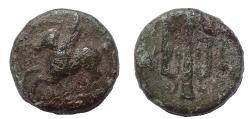Ancient Coins - Corinthia, Corinth. Autonomous Issues. Circa 335-306 BC. Æ 13
