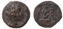Ancient Coins - Cilicia, Tarsos. After 164 BC. Æ 21